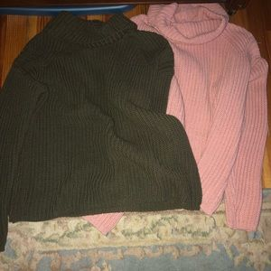 FOREVER21 bundle two sweaters